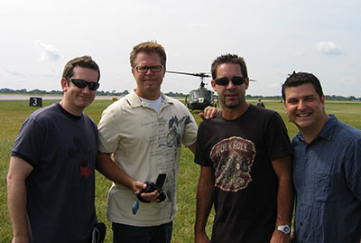 Alumnus Paul Gerard and friends and the 2013 Dayton Air Show
