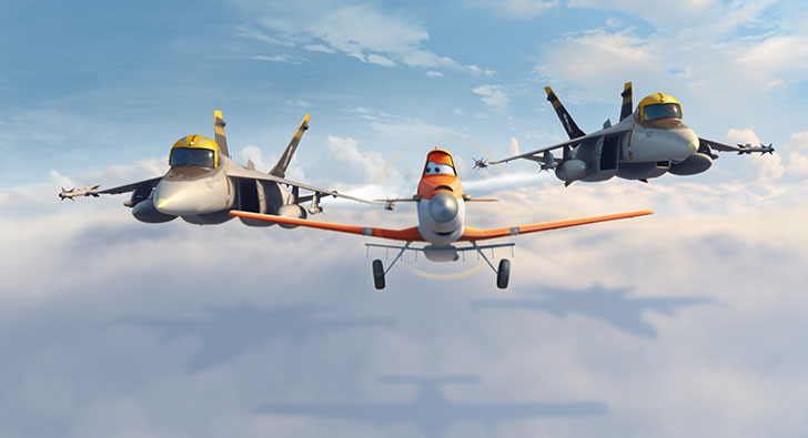 Dusty wants to race in new movie, Planes, produced by DisneyToon Studios.