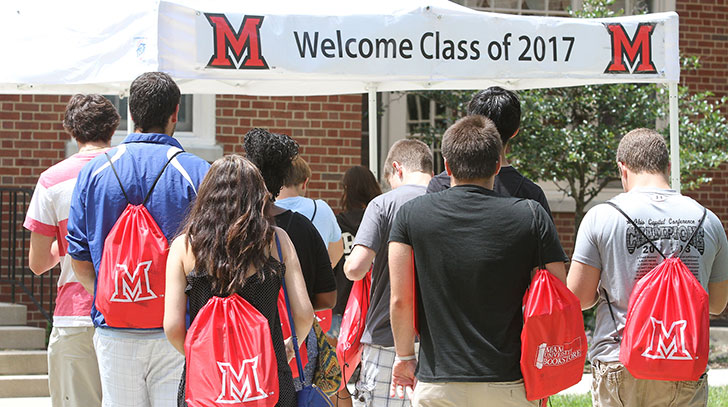 Miami welcomes class of 2017