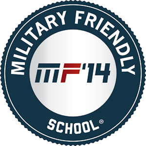 Military Friendly badge for 2014