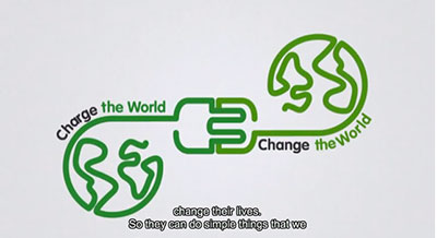 Charge the World Change the World