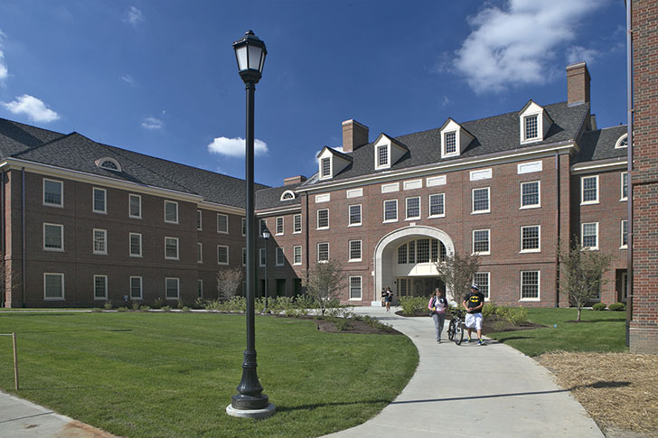 Etheridge Hall opened its doors to students in August 2013.