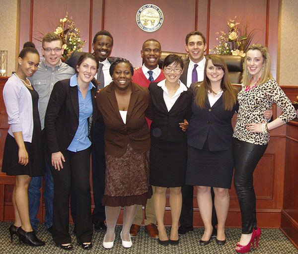 Mock Trial A-team