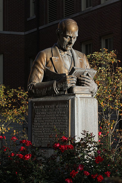 William Holmes McGuffey statue
