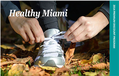 Healthy Miami postcard