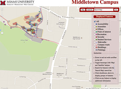 Middletown interactive map