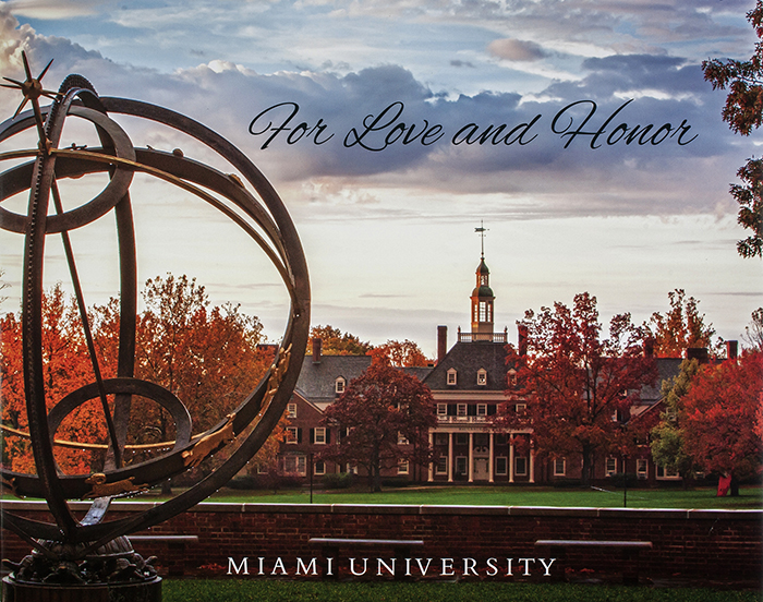 Scott Kissell and Jeff Sabo won first place in the speciality books category of the 2014 University Photographers' Association of America  competition for a new photo book of campus and student life. The cover is pictured here.