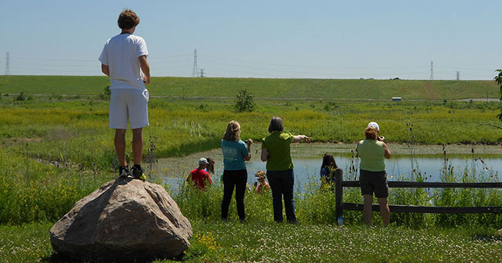 The Transforming Nature fellowship explores Fernald Preserve.