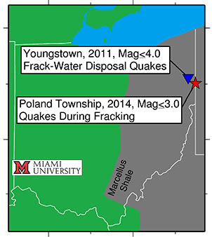Miami geologists confirm fracking as cause of rare