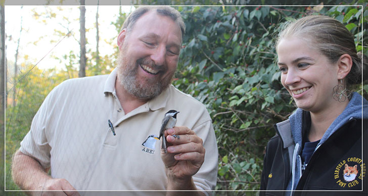 Dave Russell's concern for birds led to a career teaching others.