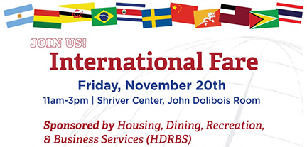 International fare slide