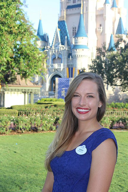 Engineering Student Sarah Chapman Discovers The Disney