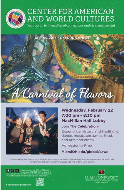 Carnival of flavors