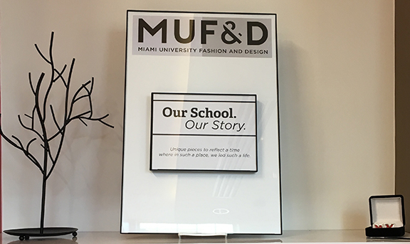 A Collaboration Between Miami Universitys Office Of University Trademarks And Licensing Fashion Design MUFD