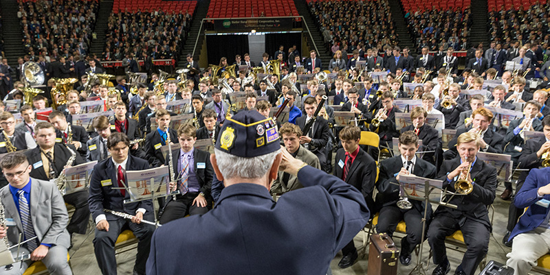 American Legion Buckeye Boys State was the largest group in terms of number of guests.