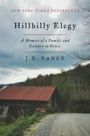 Photo of Hillbilly Elegy book cover