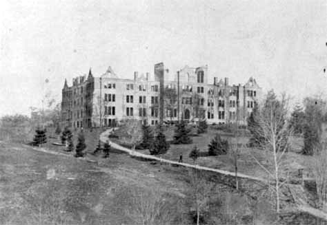 An image of Peabody Hall.