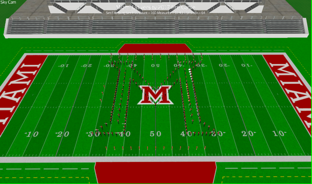 Technical drawing of the Miami M.