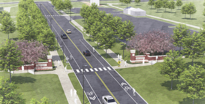 Photo rendering of State Route 73 project.