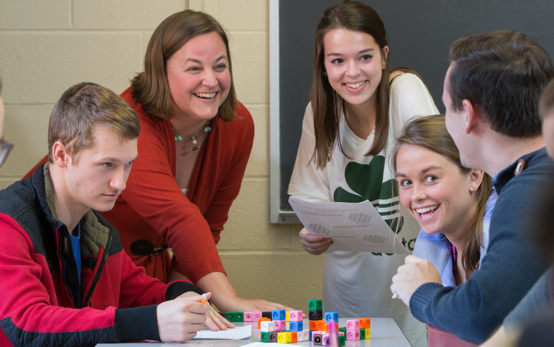Professors like Dana Cox are changing the way math is taught to improve students' relationship with the subject. Photo by Scott Kissell