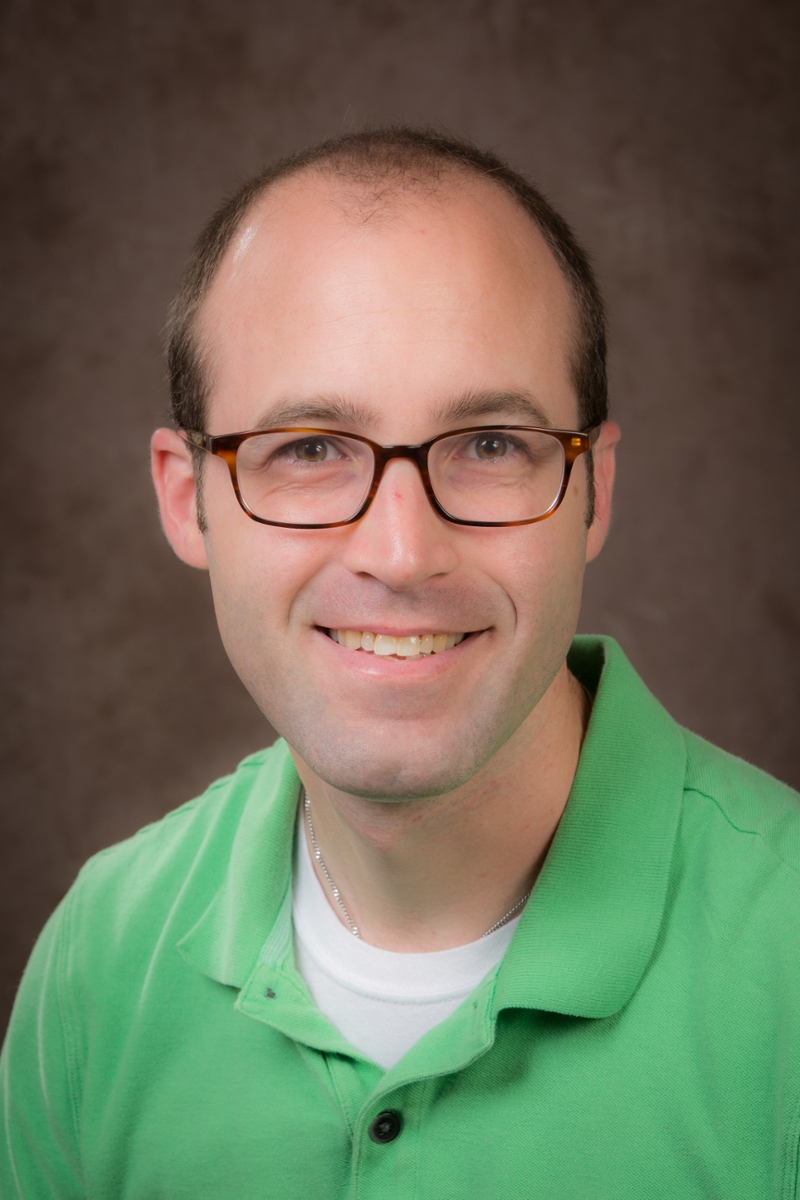 A headshot of Matthew McMurray, assistant professor of psychology at Miami University.