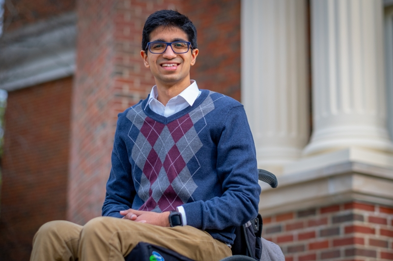 Prasidh Arora, a senior computer engineering major at Miami University, said his journey in the past two years has been a roller coaster ride filled with exhilarating highs and frightening lows. The experience has made him more resilient.