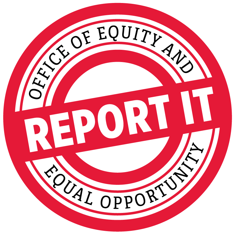 Office of Equity and Equal Opportunity Report It