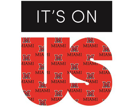 It's On Us logo with Miami branding overlay