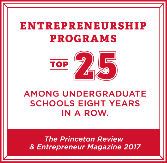 Entrepreneurship program 8th nationally among public institutions