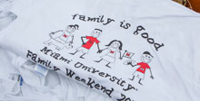 Family Weekend t-shirt
