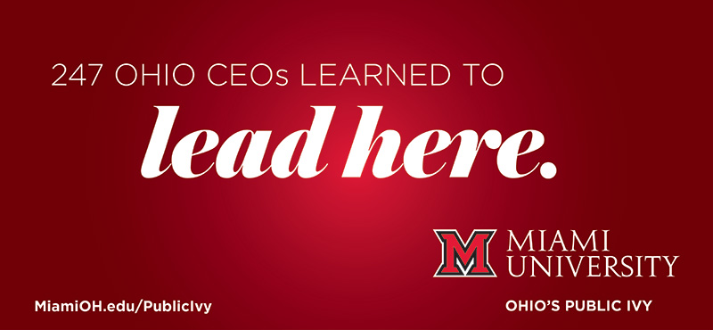 247 Ohio CEO's Learned to Lead Here