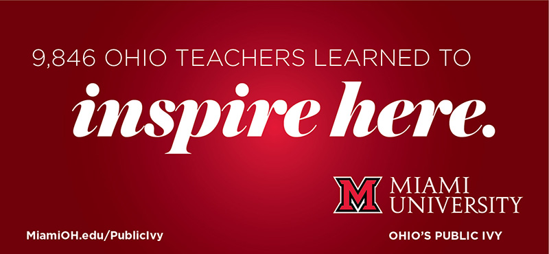 9,846 Ohio Teachers Learned to Inspire Here