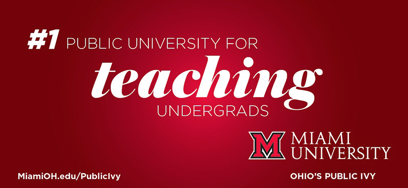 No. 1 Public University for Teaching Undergrads