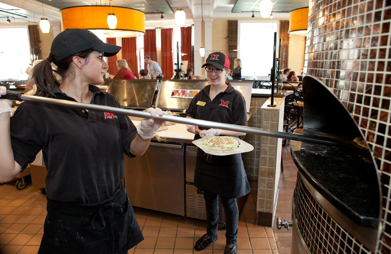 Our dining facilities have won more awards than any other university in the nation.