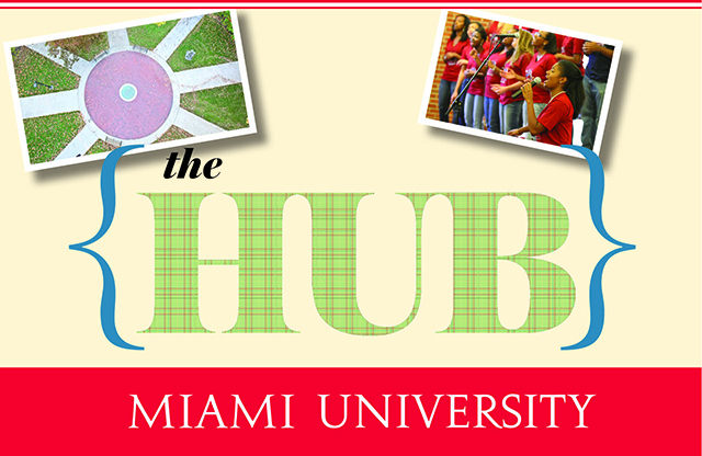 You will rely on The Hub to find your way to events all over campus.