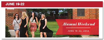 June 19-22, alumni weekend