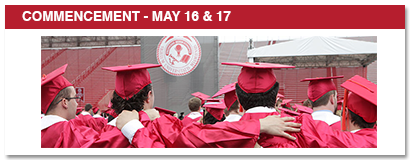 commencement may 16 & 17