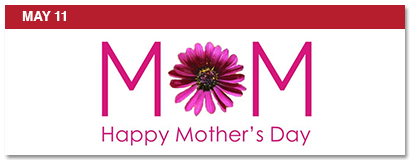 may 11, happy mother's day