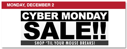 monday, december 2, cyber monday, shop til your mouse breaks