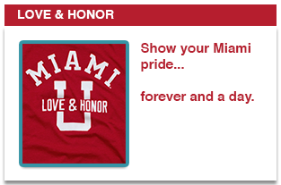 Show your Miami pride...forever and day.