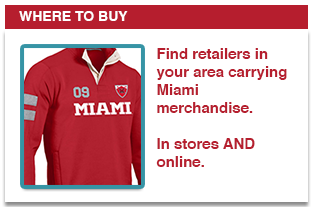 Find retailers in your area carrying Miami merchandise. In stores AND online.