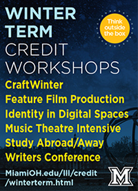 Winter Term credit workshops