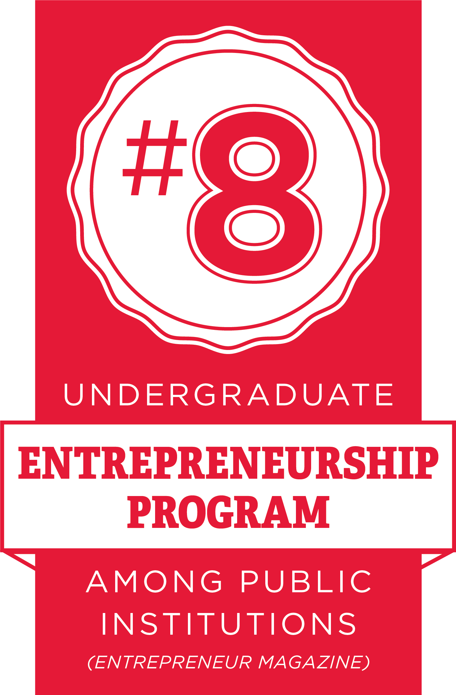 Miami among Entrepreneur magazine's top 25 undergraduate schools for entrepreneurship studies for 2017.