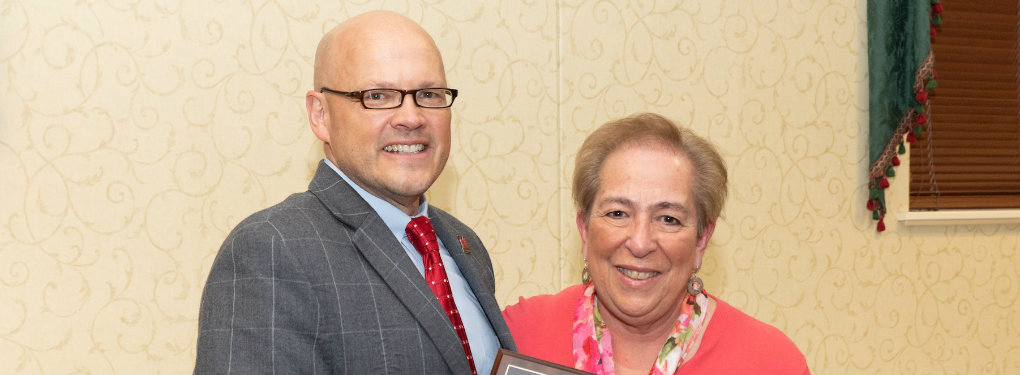 Diane Delisio, Senior Associate Dean, College of Engineering and Computing, and a 2018 Distinguished Service Award recipient