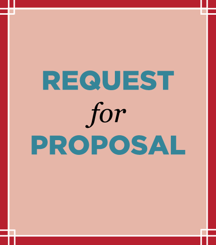 Link to the Request for Proposal form.