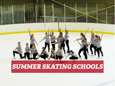 Summer skating school