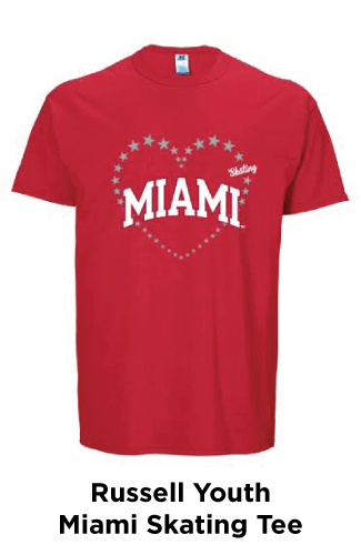 Russell Youth Miami Skating Tee