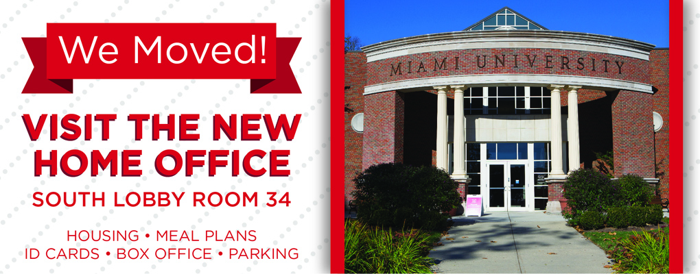 Parking/HOME Office has moved to Campus Avenue Building Room 034