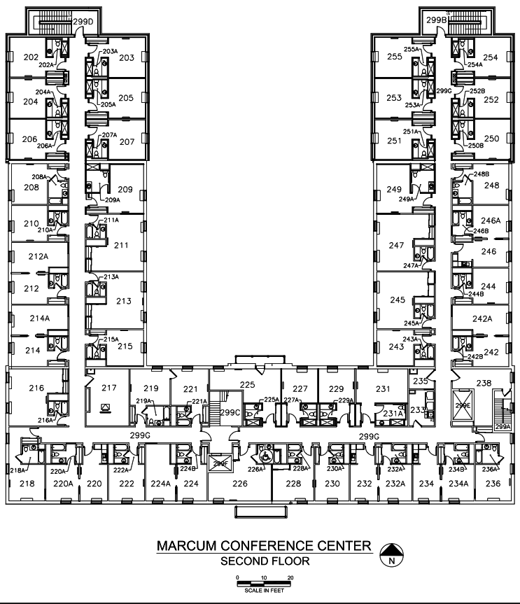 Floor plans the marcum hdrbs miami university for U build it floor plans