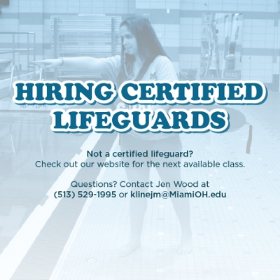 Rec Hiring Certified Lifeguards